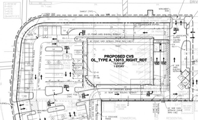 Cvs site plan 5 1 10 respect 4 edgewood for How to plan a website